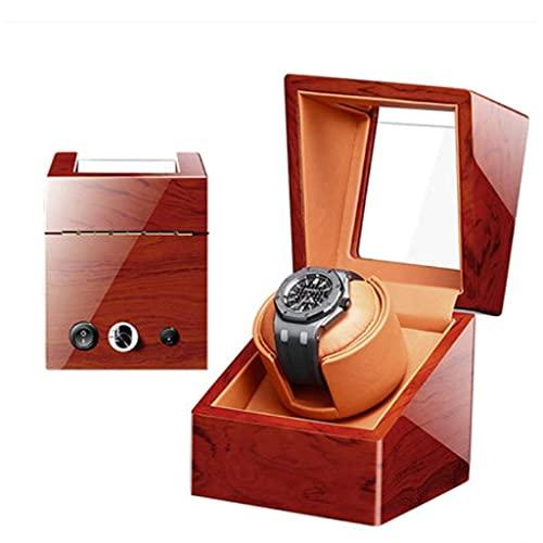 YLJYJ Bobinadora automática de Relojes, bobinadoras domésticas Cajas 4 + 0 Caja de Motor de bobinado de Doble Cabezal Agitador Caja de Caja de Motor Ultra silenciosa