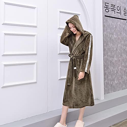 Bywenzai Pijama Bata De Kimono para Mujer, Camisón Holgado Informal, Ropa De Dormir, Albornoz...