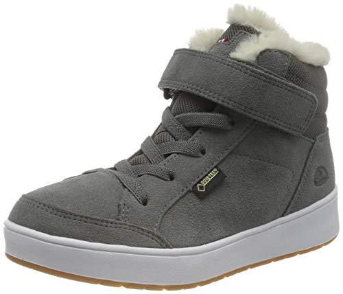Viking Eagle Fur GTX, Stivali a metà Polpaccio Unisex-Bambini, Grey, 36 EU