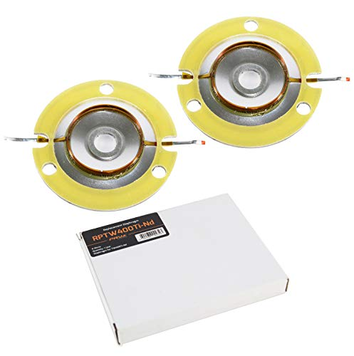 2X Replacement Diaphragm PRV Audio PRV-TW400Ti-Nd for TW400Ti-Nd