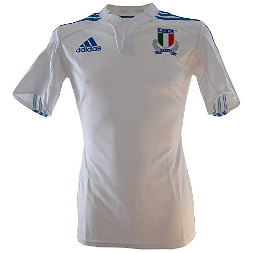 adidas Maillot Rugby FIR Italie H Blanc Z78793. Taille FR = 56