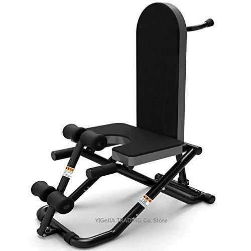 Equipo de entrenamiento Inicio aparatos de ejercicios con mancuernas banco invertido máquina, una silla multifuncional Inversion Presidente Situp Junta de musculación, equipo de la aptitud