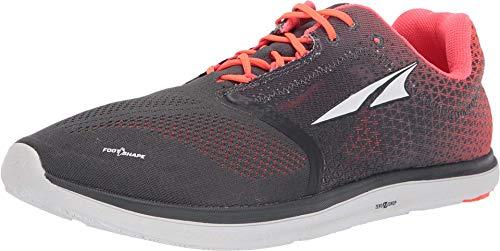 ALTRA Men's ALM1836P Solstice Sneaker, Gray/Orange - 12.5 M US