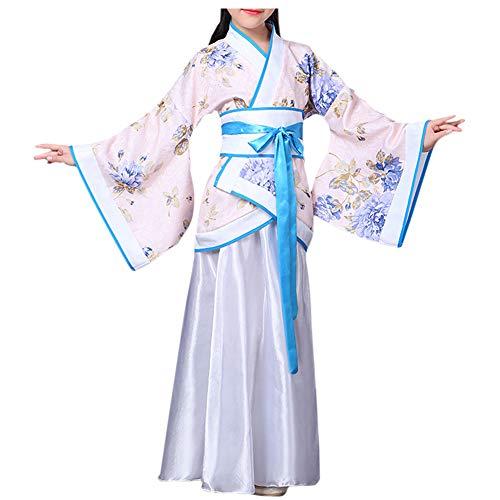 Meijunter Estilo Chino Retro Hanfu - Tradicional Antiguo