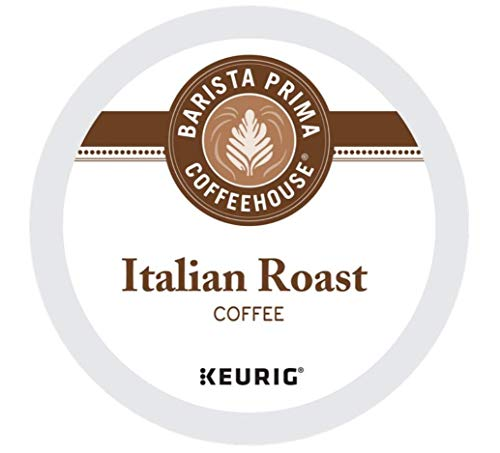 Barista Prima Italian Roast Coffee K-Cup, 96 Count (Packaging May Vary)