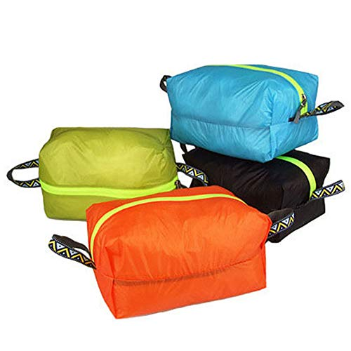 JIUTAI Shoe Bag Storage Pouch Waterproof Organiser Portable with Handle for Travel Trainer Golf Shoe Boot 4PCS L