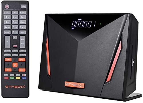GTMEDIA V8 UHD Receptor de satélite Compatible con DVB-S/S2/S2X+T/T2/Cable/ATSC-C H.265 WiFi Incorporado, actualización V8 Pro2