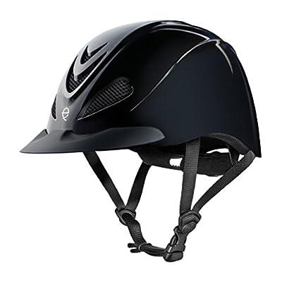 TROXEL Performance Headgear Troxel Liberty Black Duratec Riding Helmet by TROXEL PERFORMANCE HEADGEAR
