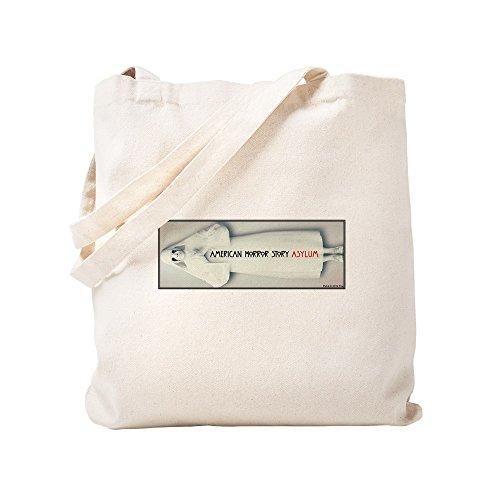 CafePress natürliche Canvas Tote Bag, Tuch, mit Tasche, canvas, khaki, S