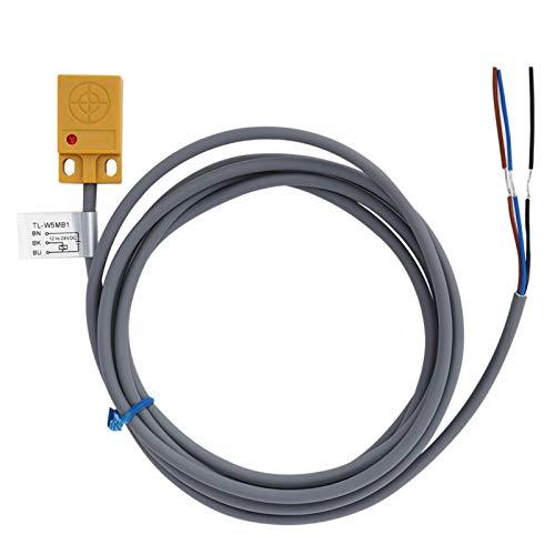 Interruptor de proximidad inductivo PNP NO Interruptor de sensor de proximidad Sensible a la inducción Bobina de cobre puro incorporado Chip de alta calidad Fuerte antiinterferente