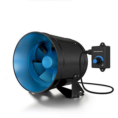 TerraBloom ECMF-150, Quiet 6″ Inline Duct Fan