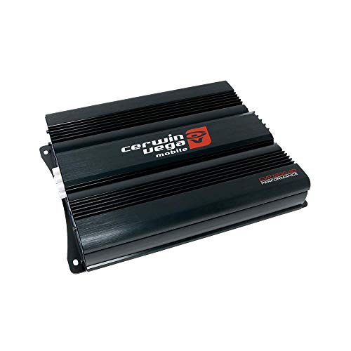 Cerwin-vega Mobile CVP1200.4D CVP Series 4-Channel Class-D Amplifier (600W Rms)