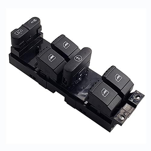 MYlnb Interruptor de Control de ventanilla eléctrica para Coche, para Volkswagen Bora Golf MK4 Passat B5, para Seat Leon Toledo 1J4959857