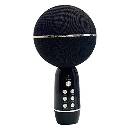 BAIRU Micrófono de conferencia USB con altavoz 2.1 canales Omnidireccional Altavoz Micrófono de computadora con cable de carga Mini micrófono inalámbrico