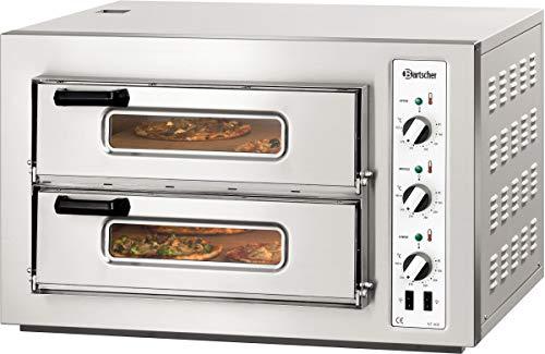 Horno para pizza doble NT 502 T, 6 kW - Bartscher 2002028