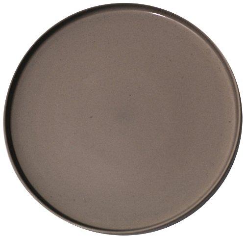 Salt&Pepper Stone Dinner Plate, Dark Grey