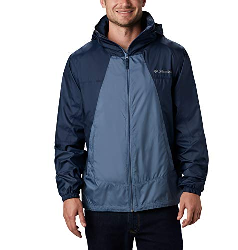 Columbia Point Park, Chaqueta cortavientos, Hombre, Azul (Mountain, Collegiate Navy), S