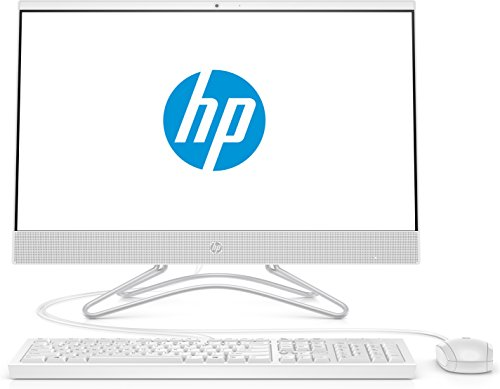 HP 24-f0023ng (23,8 Zoll / Full HD) All in One PC (Intel Pentium J5005, 8GB DDR4 RAM, 256GB SSD, Intel UHD Graphik 600, Windows 10 Home) weiß
