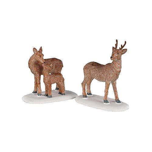 Lemax - Deer Family- Set Of 2