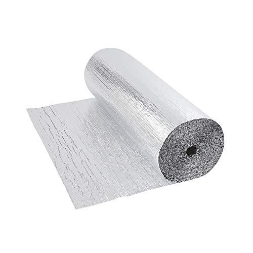 Biard - Isolant Thermique et Acoustique - Feuille Aluminium à Bulles - Double Épaisseur -...