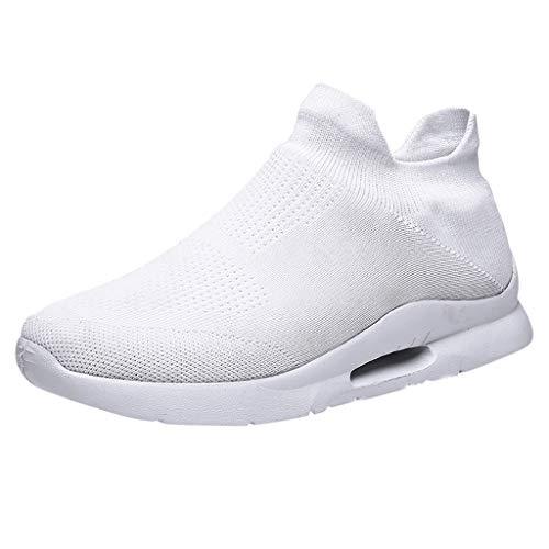 Zapatillas para Hombre,ZARLLE Zapatos para Correr En Montaña Asfalto Deportes Zapatillas Zapatos de Malla al Aire Libre de Encaje Informal hasta Soles cómodos Zapatillas Deportivas Hombre