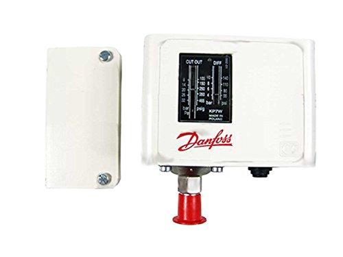 Druckschalter, Danfoss, Hochdruck, KP7W, 8-32 bar, manuelle Rückstellung, 060-119066