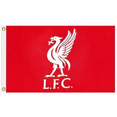 Drapeau officiel Liverpool (Premier League 2019) 100 % polyester 1,5 x 0,9 m
