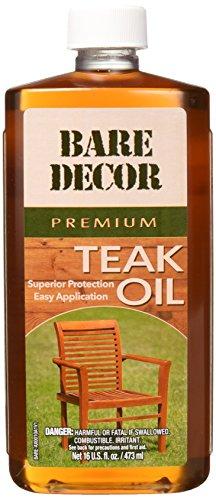 Bare Decor Premium Golden Teak Oil