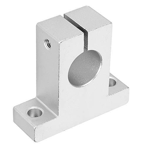 Befestigungswinkel, 2PCs Befestigungswinkel Hardware Befestigungselement Leichtes Aluminiumlegierungsschienenzubehör SK16 für Welle