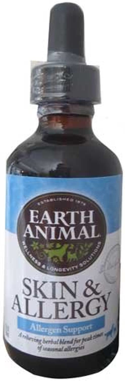 Earth Animal Itchy Skin Dog Supplement 2 oz.