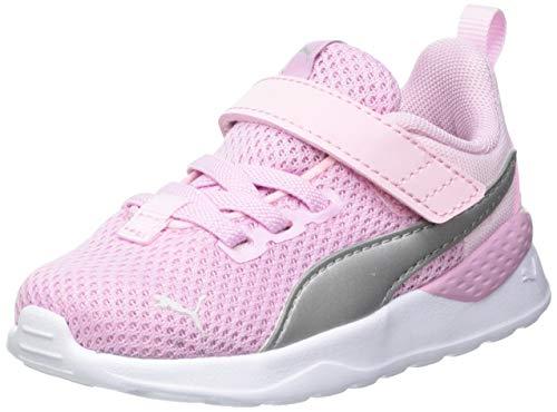 Puma ANZARUN Lite AC INF, Basket Mixte bébé, Pink Lady Silver, 25 EU