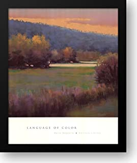 Language Of Color 28x34 Framed Art Print by Baggetta, Marla