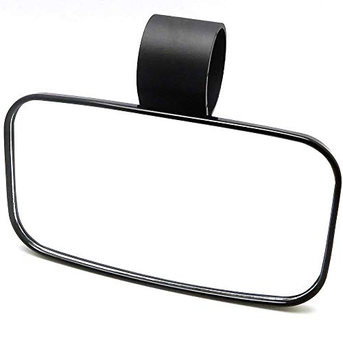WASTUO Universal 2x Custom Black Blade Side Motorcycle Rear View Mirror