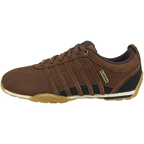K-Swiss Mens Arvee 1.5 Sneaker, Bison/Black/Gum, 43 EU
