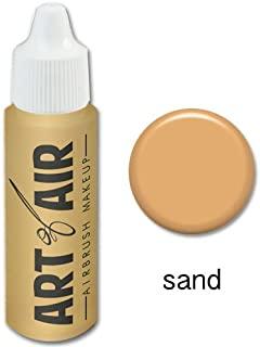 Art of Air Airbrush Makeup - Foundation 1/2oz Bottle Choose Color (Sand)