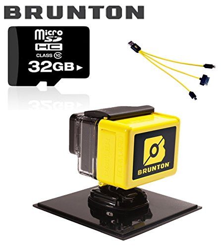 "Brunton ""ALL DAY GOPRO HERO 3+"" Power Pack, Yellow 32GB Micro SD Card"