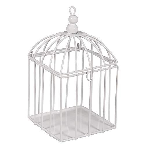 Rayher 46368102 Cage d'oiseau déco en métal