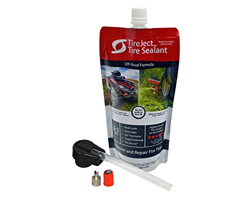 TireJect Tire Sealant Kit - 5-in-1 Sealing - Fix...