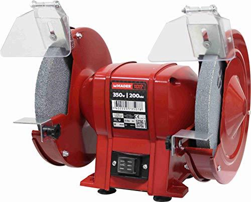 Mader Power Tools 73507 Amoladora de Banco Eléctrica 350W 200mm-73507