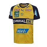 Puma Maillot de handball RNL Domicile Rhin Neckar Lion M-XL Cyber Yellow-Peacoat Taille L