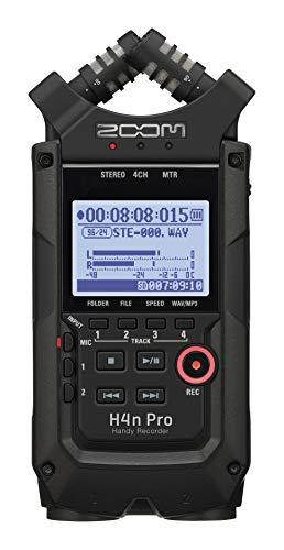 ZOOM ズーム ハンディレコーダー  オールブラックエディション H4nPro/BLACK