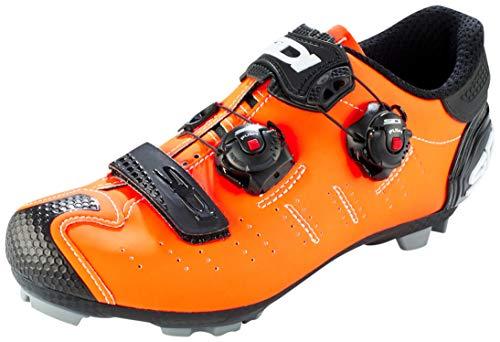 Sidi MTB Dragon 5 SRS - Zapatillas de ciclismo para hombre, color naranja mate, naranja mate y negro, 42