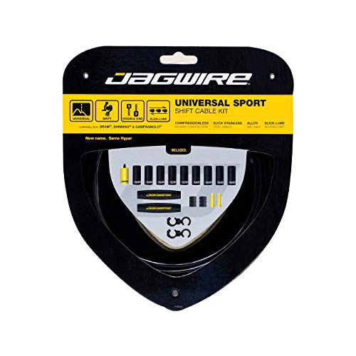 Jagwire JGC03BK Hyper Gear Cable Kit - Black