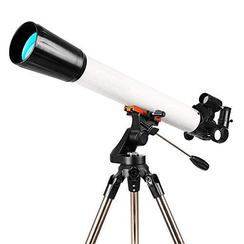 TZZ Telescopio HD telescopio astronómico Profesional al Aire Libre de Alta ampliación monocular Refractor óptico diseño telescopio portátil telescopio Espacial trípode 70/700