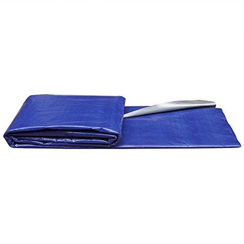 YYHSND Tela De Paño Azul Plata Paño De Toldo Sombrilla Tela Impermeable Y A Prueba De Agua Lona alquitranada (Color : Blue+Silver, Size : 4x30m)