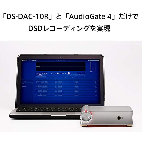 KORGUSBDACデジタル→アナログ変換器フォノ入力対応1bitDS-DAC-10Rハイレゾオーディオリッピング