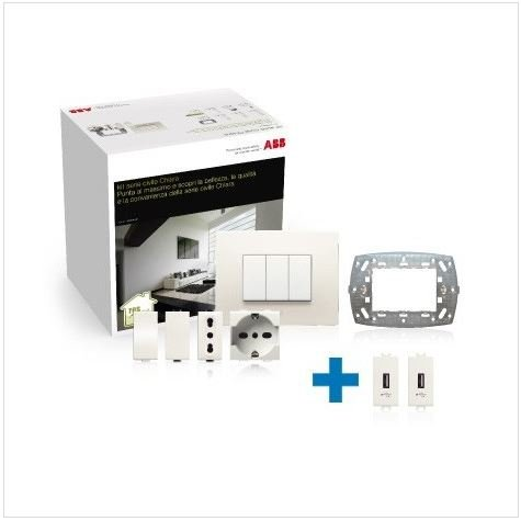 ABB Kit Serie Civile Chiara