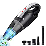 Handheld Vacuums,Cordless Handheld Vacuum Cleaner,Car Vacuum Cleaner with Power Cord 7000PA Hepa Filter