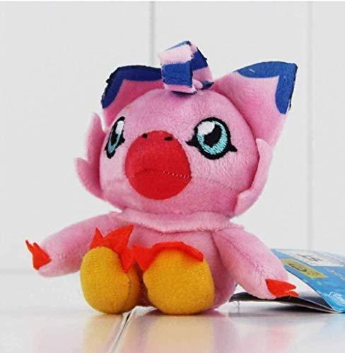N-L Plush Toys Digimon Plush Patamon Agumon Palmon Piyomon Gomamon Gabumon 15 cm Decoration