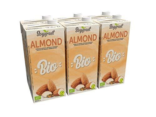 SOYFRUIT - Latte di mandorla biologico, 1000 ml, confezione da 6